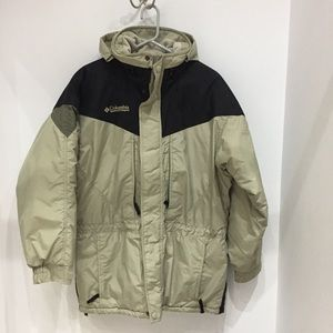Mens S Columbia Ski  town Jacket puffer insulated